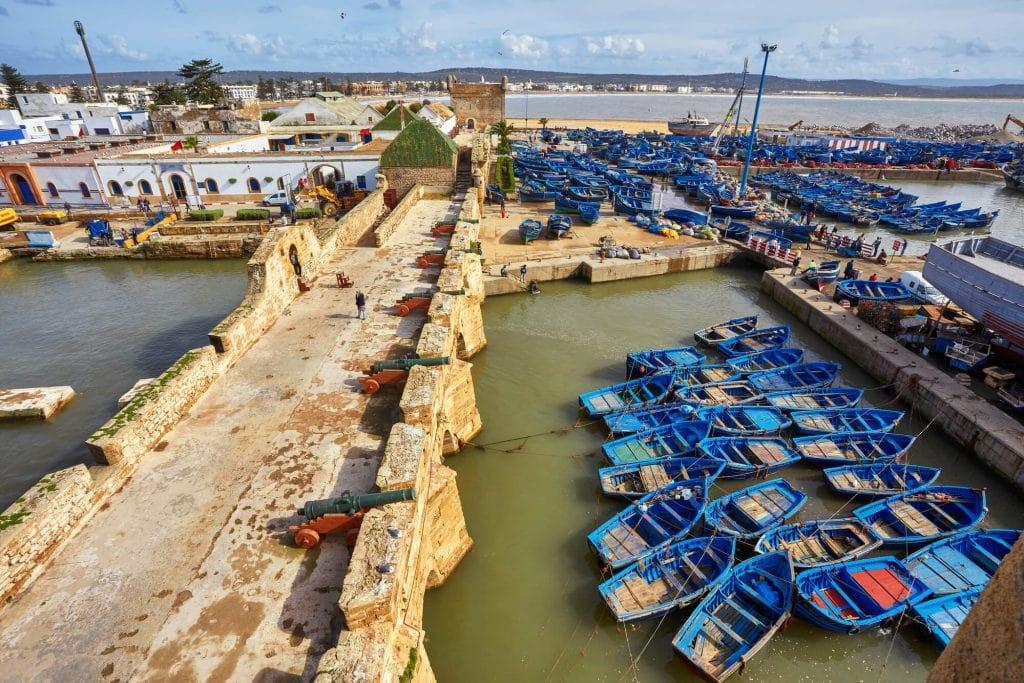 נמל אסווירה, מרוקו
