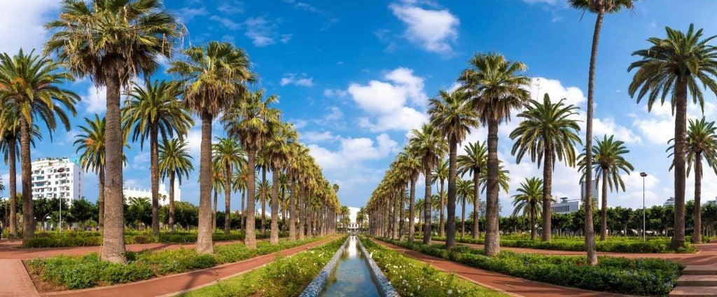 פארק הליגה הערבית, קזבלנקה, מרוקו