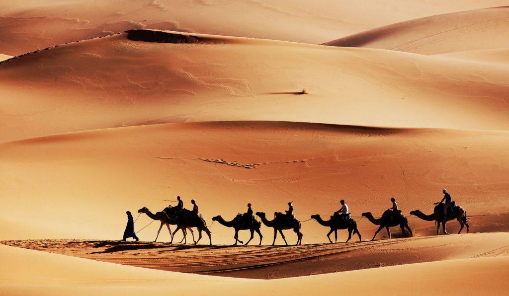 מזג האוויר במדבר סהרה