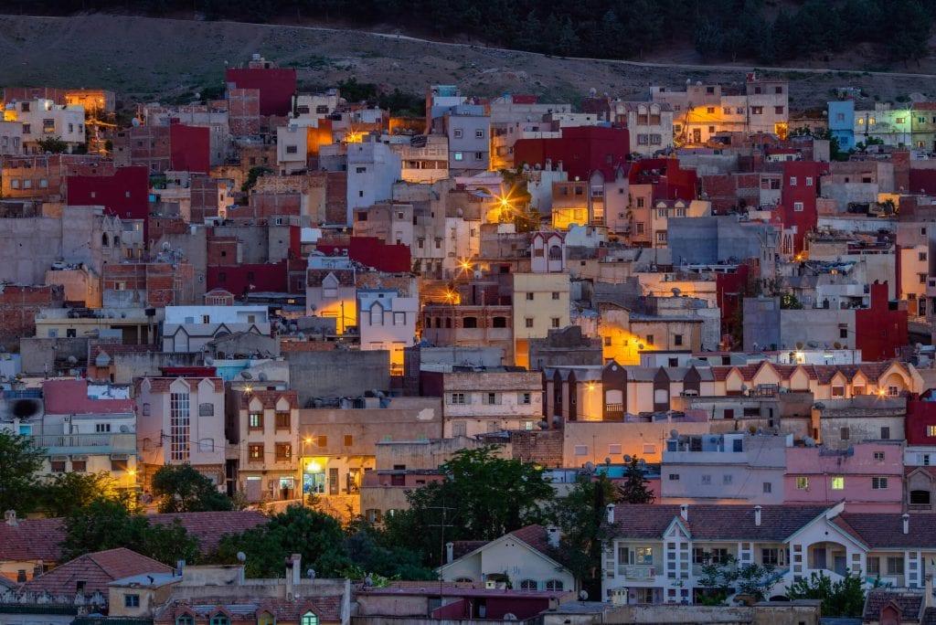עיירת איפראן במרוקו