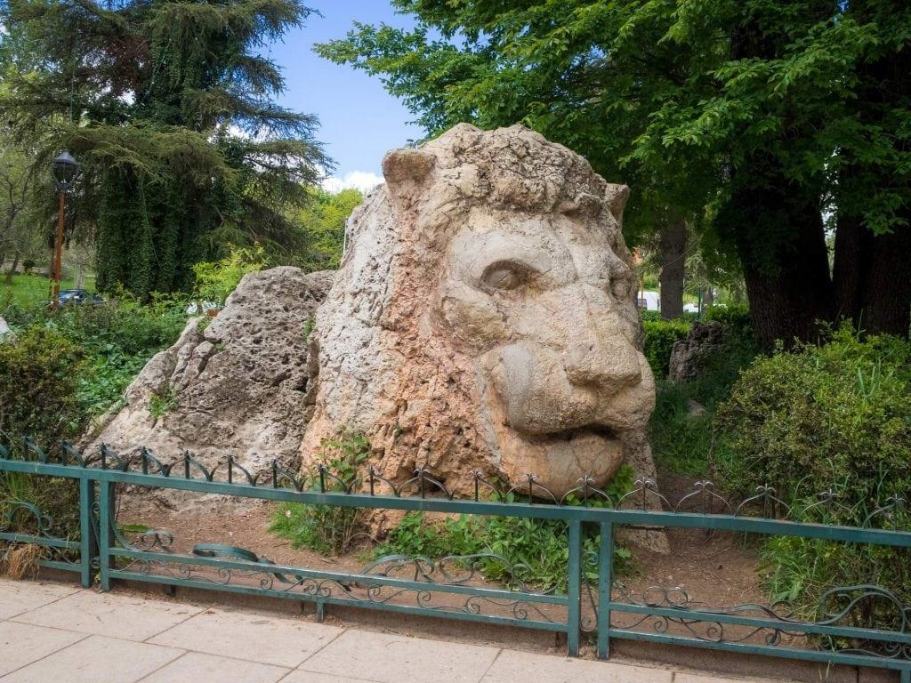 אנטרדת האריה, העיירה איפראן, מרוקו