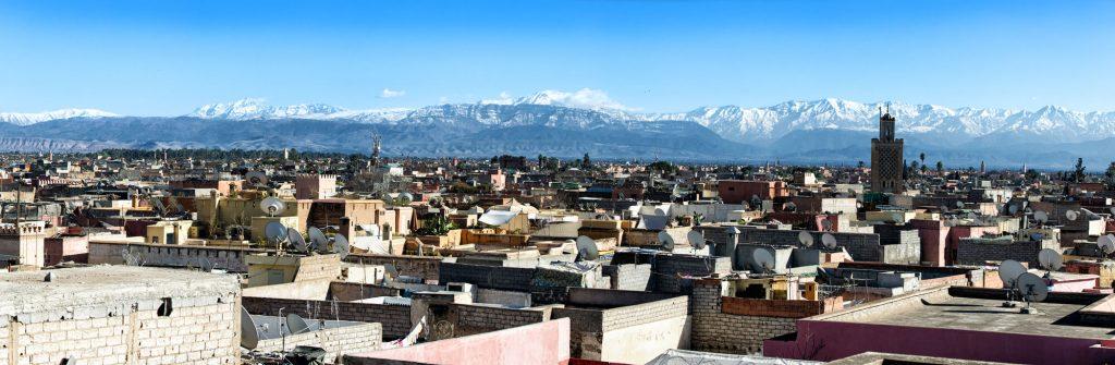מזג האוויר בהרי מרוקו