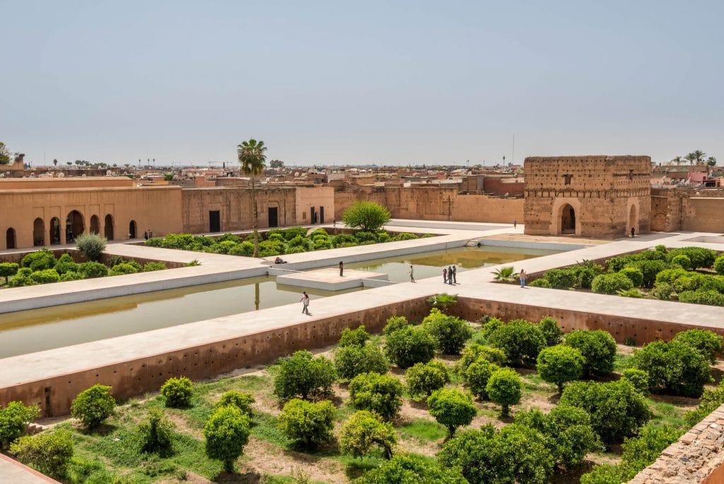 ארמון אלבאדי, מרקש, מרוקו
