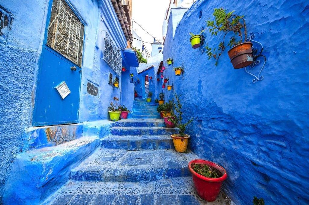סמטאות שפשוואן, מרוקו