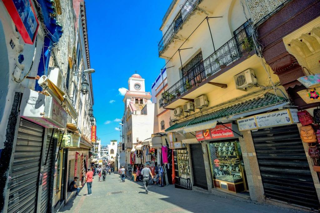 העיר העתיקה של טנג'יר, מרוקו