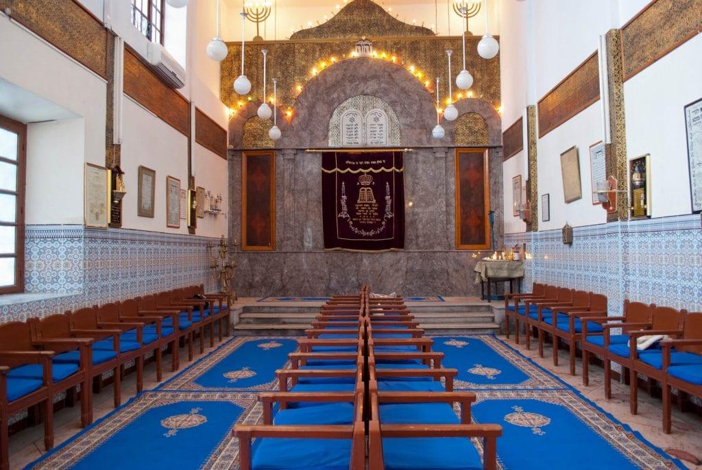בית הכנסת במרקש, מרוקו