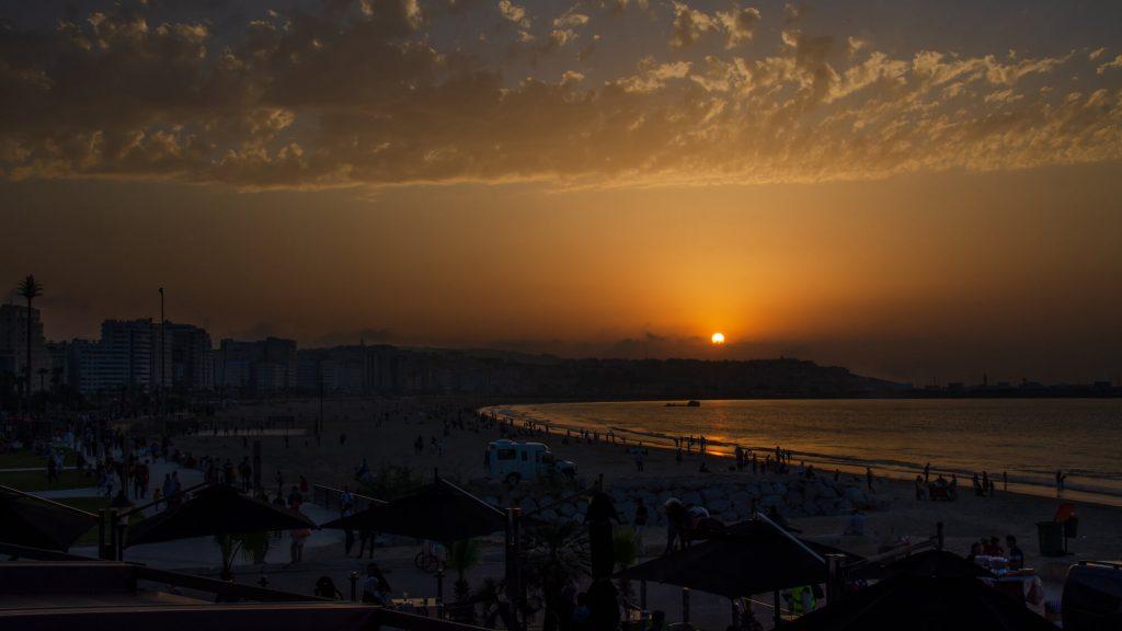 החוף והנמל של טנג'יר, מרוקו