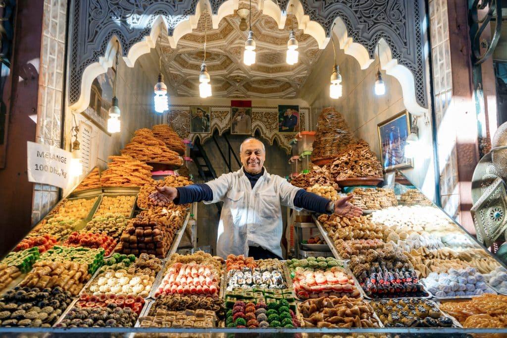 השוק במרקש, מרוקו
