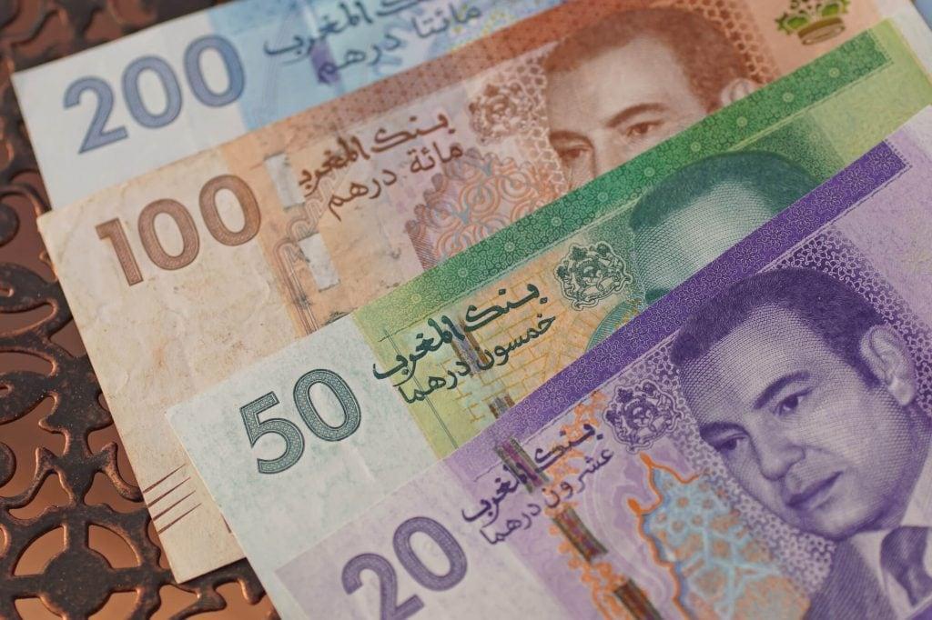 המטבע של מרוקו - שטרות דירהם מרוקאי