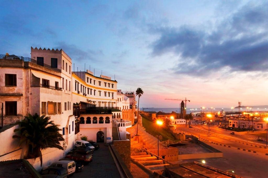 העיר טנג'יר, מרוקו