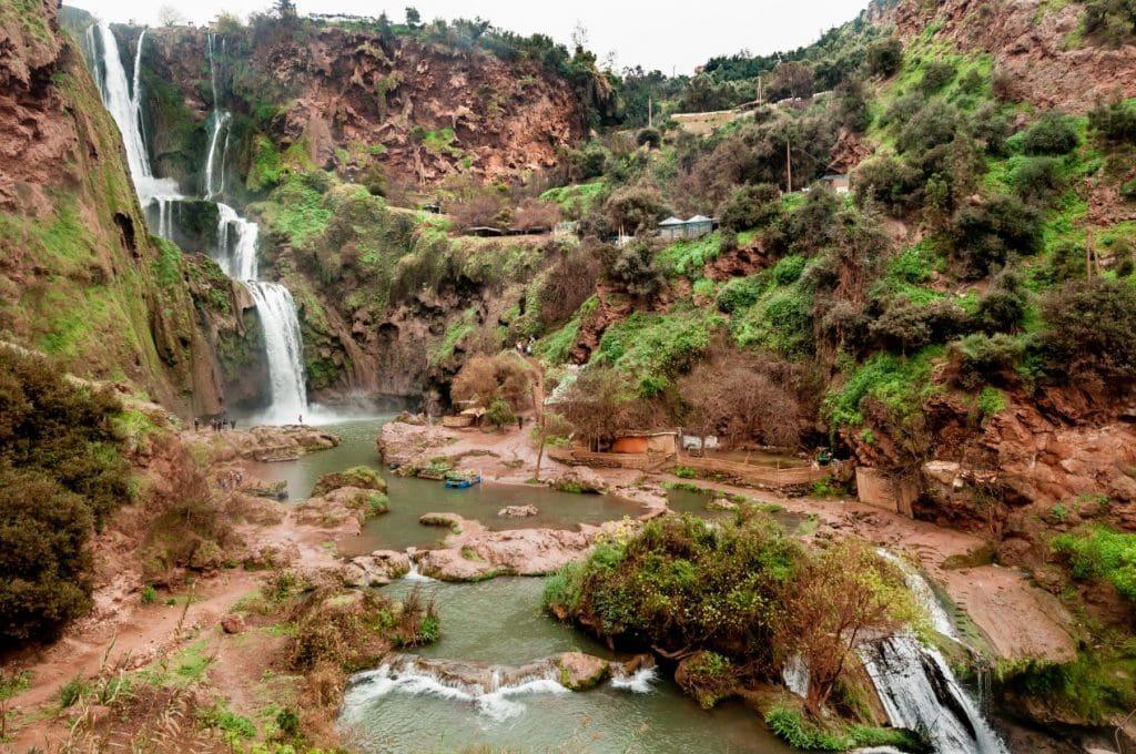 אטררציות במרוקו - מפלי אוזוד