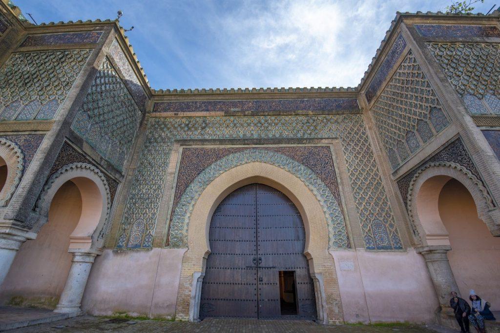 אטרקציות במרוקו - באב אלמנסור, מקנס