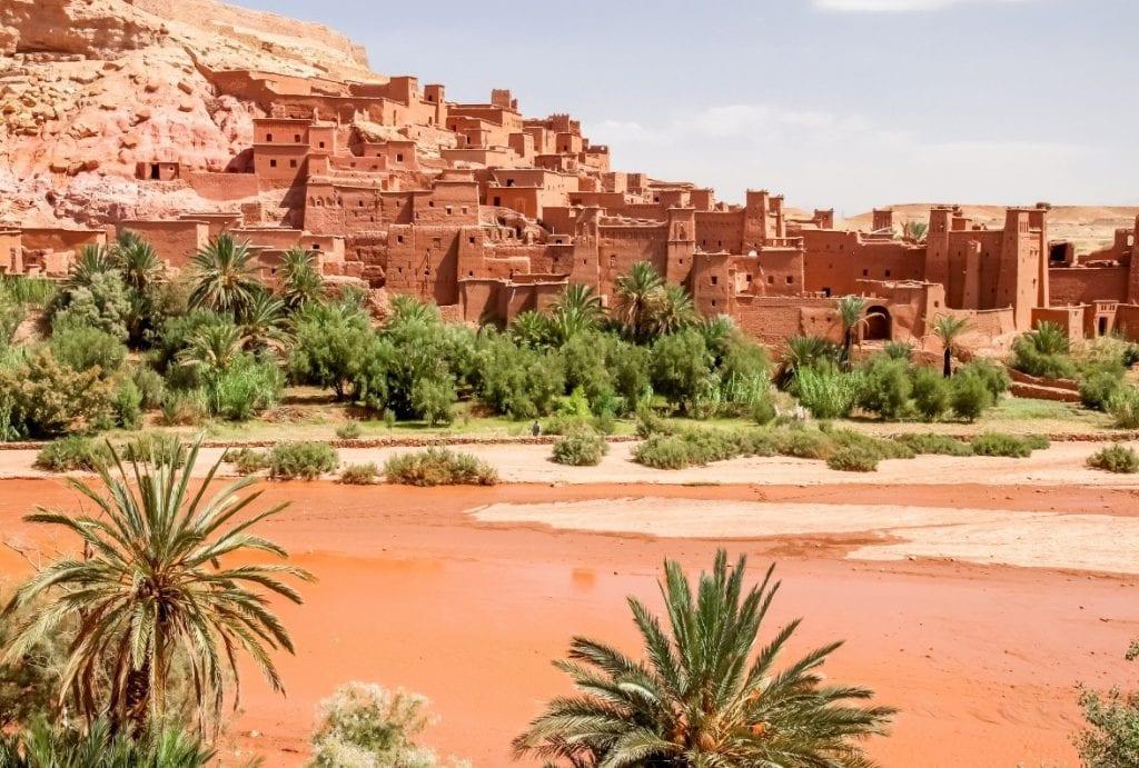 אטרקציות במרוקו - קסבת איית בן חדו