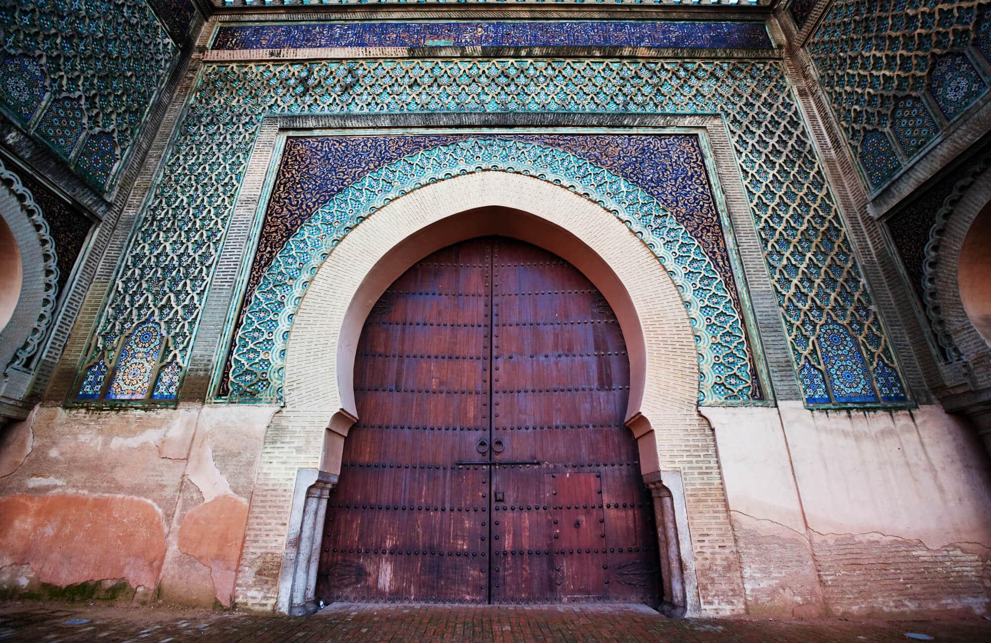 באב אל מנסור, העיר מקנס, מרוקו