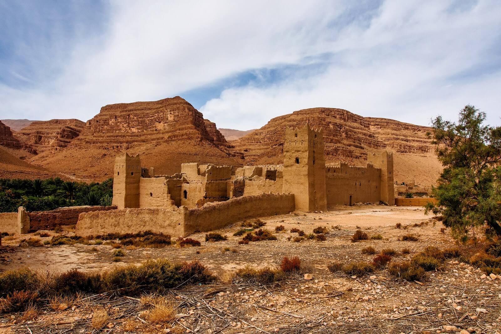 הנוף באזור ארפוד, מרוקו