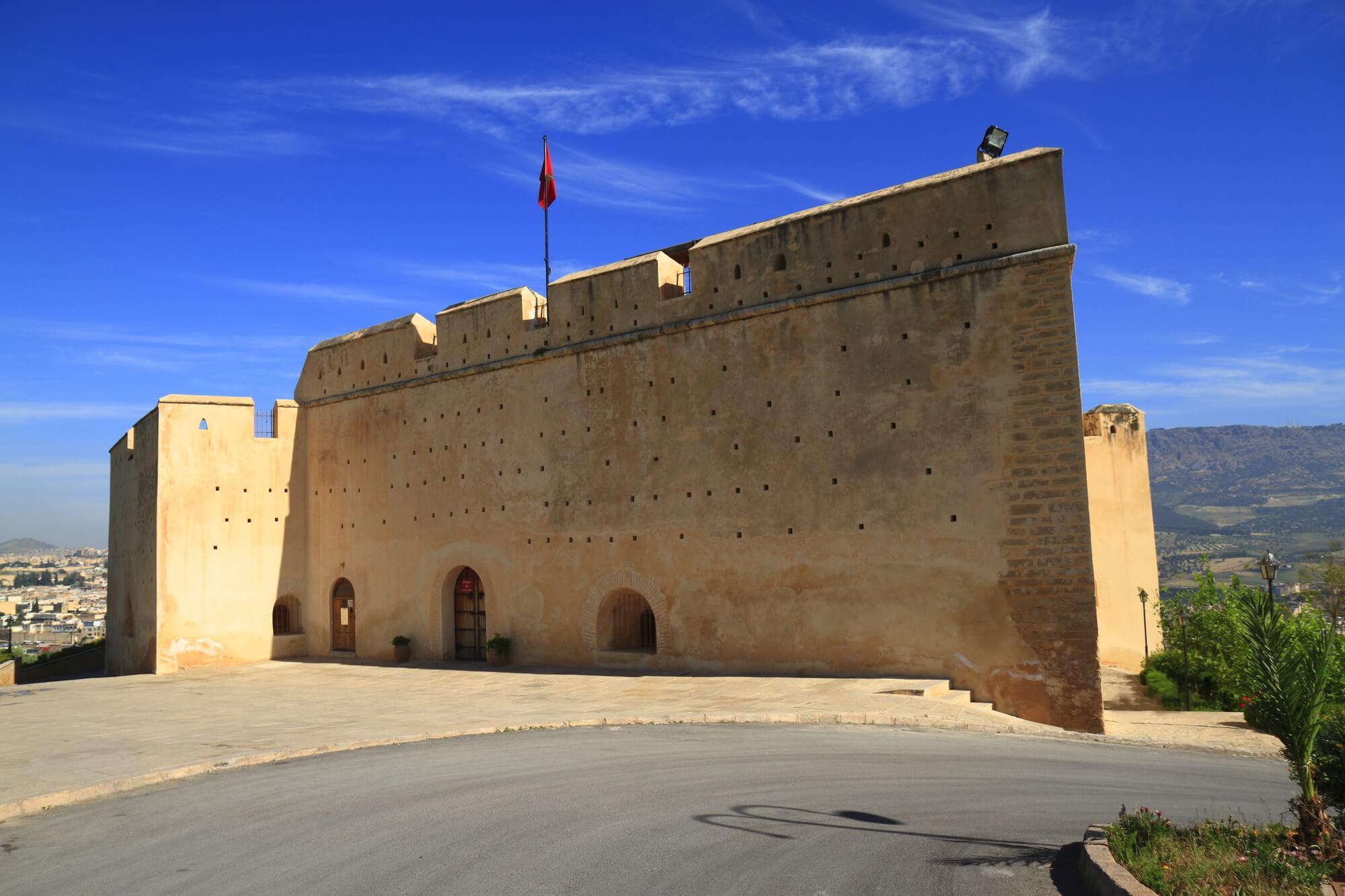 מצודת בורג' סוד - העיר פס במרוקו