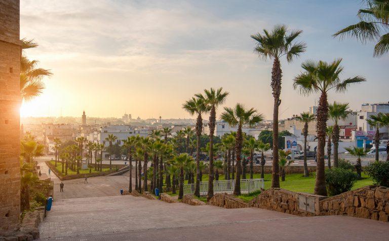 רבאט העיר של מרוקו