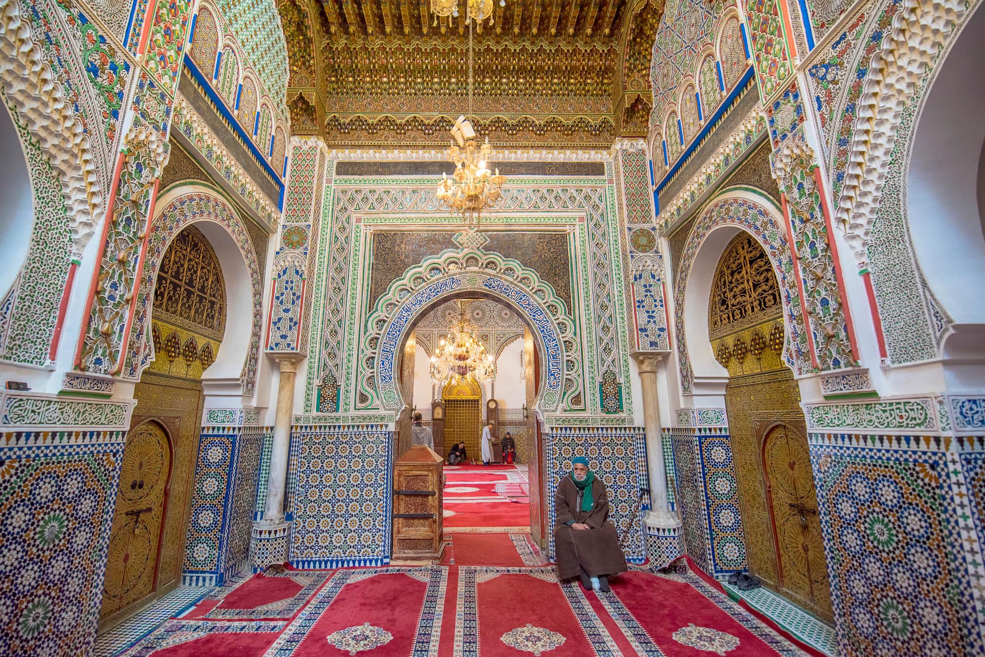 קבר מולאי אידריס השני, העיר פס, מרוקו