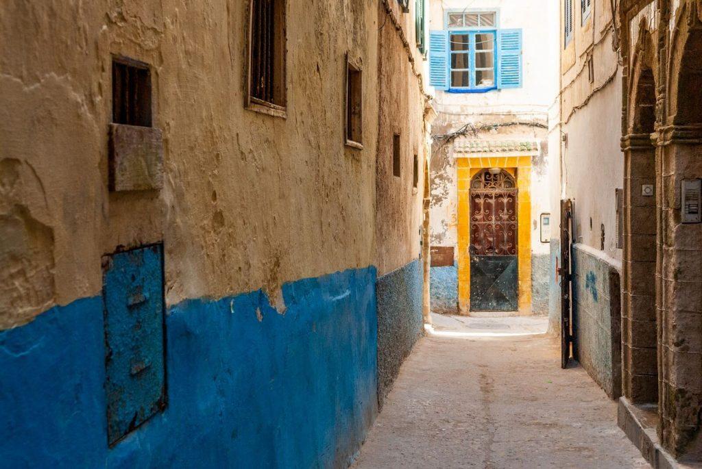 המלאח היהודי בעיר אסווירה (מוגדור) במרוקו