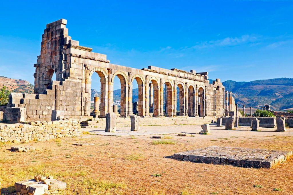 חורבות העיר הרומית וולוביליס, מרוקו
