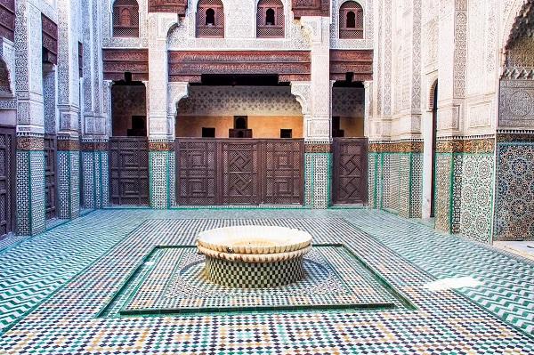מאוזוליאום מולאי איסמעיל, העיר מקנס שבמרוקו