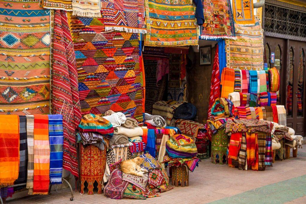 שוק אל חד, קניות באגאדיר, מרוקו