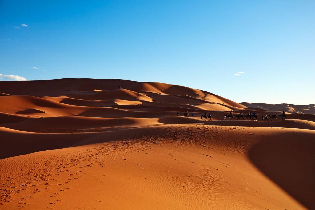 מדבר סהרה, מרוקו