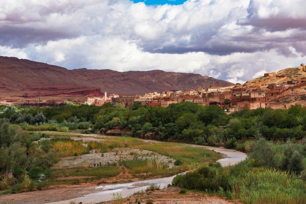 עמק הורדים, אזור וואראזאת, מרוקו