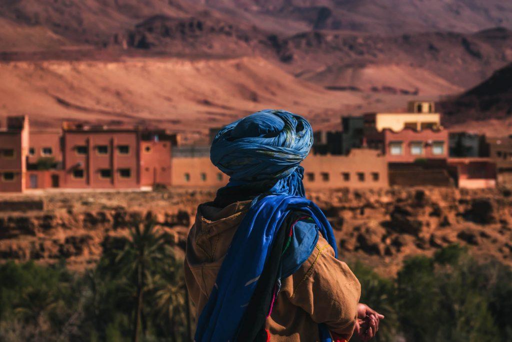 שבט הטוארג, העיר טינע'יר, מדבר סהרה במרוקו